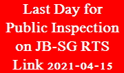 event-2021-04-15 - Last Day of Public Inspection on RTS Link
