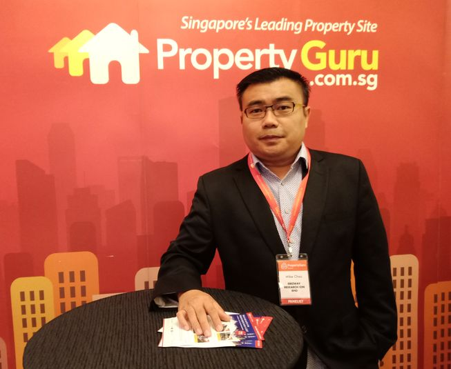 2018-04-14 - Mike Chau at Property Guru SG Panel Discussion