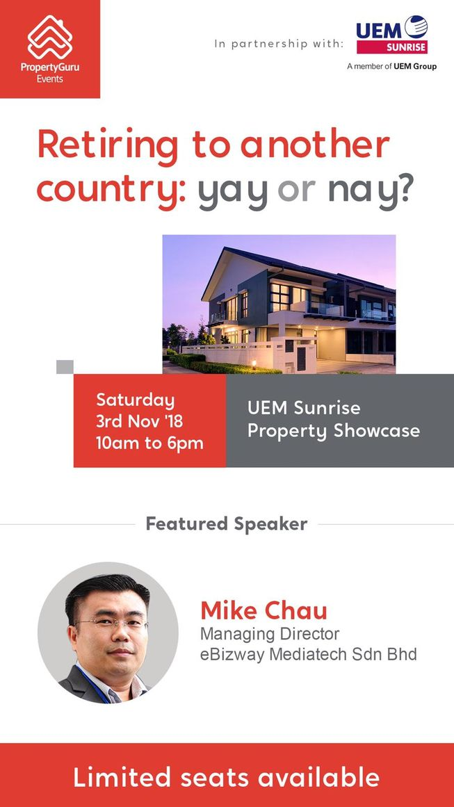 2018-11-03 Mike Chau Property Guru - UEMS Talk