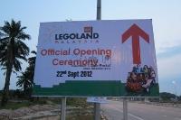 Grand Opening of Legoland Malaysia