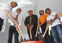 Raffles American School Groundbreaking Ceremony
