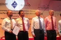 Signing Ceremony of The Heads of Agreement Between CapitaLand, Iskandar Waterfront and Temasek