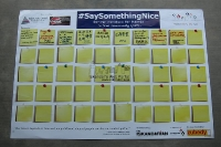 The #SaySomethingNice Campaign