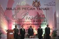 Ground Breaking Ceremony for MCT's d'Pristine @ Medini, Iskandar Malaysia