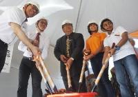 Raffles American School Groundbreaking Ceremony